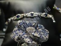 Бриллианты и сапфиры